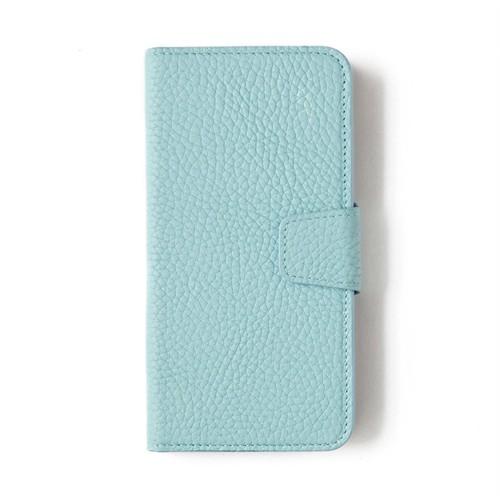 Açık Mavi Deri Kapaklı Telefon Kılıfı - Samsung Galaxy S7 Edge
