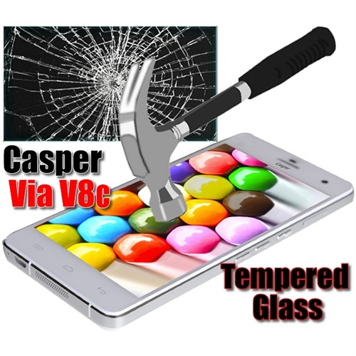 Duck Casper Via V8c Kırılmaz Cam Ekran Koruyucu