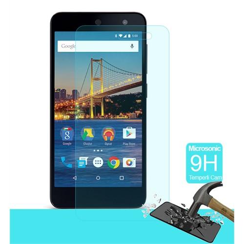 Duck General Mobile 4G Andorid One Kırılmaz Cam Ekran Koruyucu