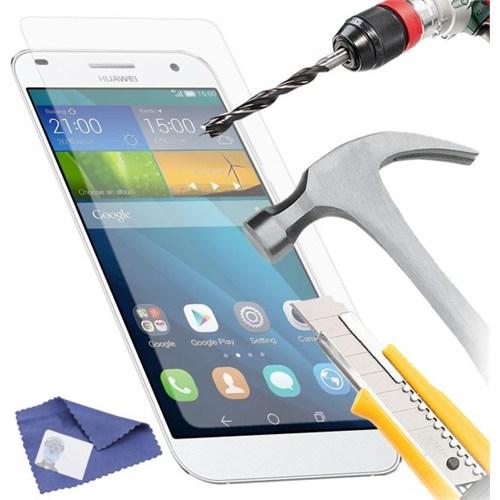 Duck Huawei Ascend G7 Kırılmaz Cam Ekran Koruyucu
