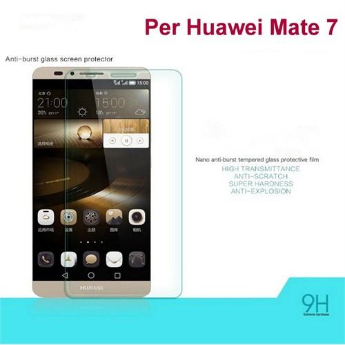 Duck Huawei Ascend Mate 7 Kırılmaz Cam Ekran Koruyucu