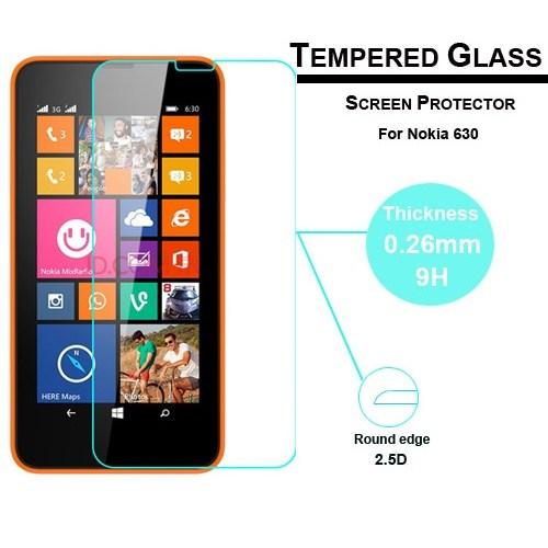 Duck Nokia Lumia 630 Kırılmaz Cam Ekran Koruyucu