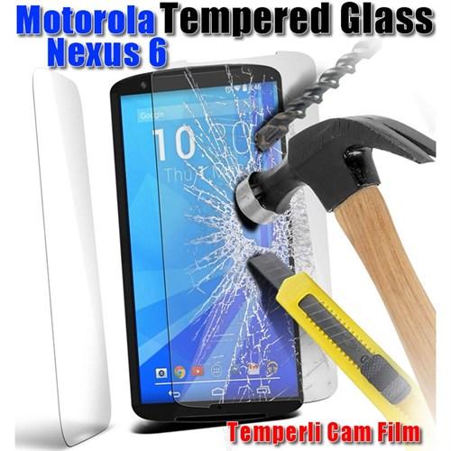 Duck Motorola Nexus 6 Kırılmaz Cam Ekran Koruyucu