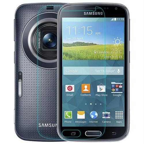 Duck Samsung Galaxy S5 Zoom Kırılmaz Cam Ekran Koruyucu
