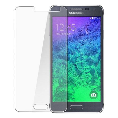 Duck Samsung Galaxy Alpha G850 Kırılmaz Cam Ekran Koruyucu