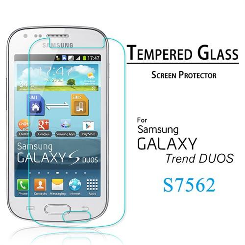 Duck Samsung Galaxy Trend S7560-S7562 Kırılmaz Cam Ekran Koruyucu