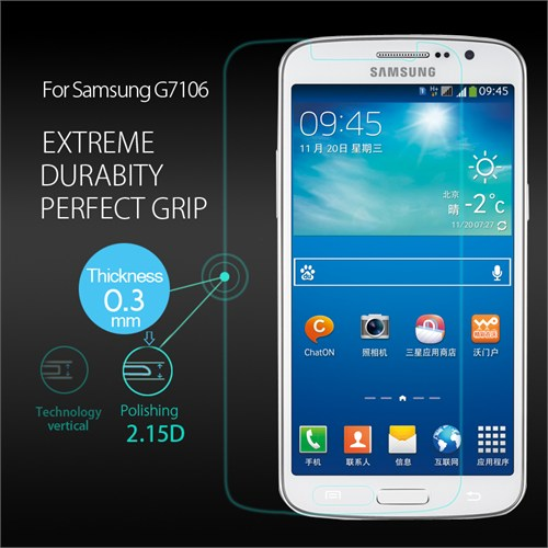 Duck Samsung Galaxy Grand 2 7106 Kırılmaz Cam Ekran Koruyucu