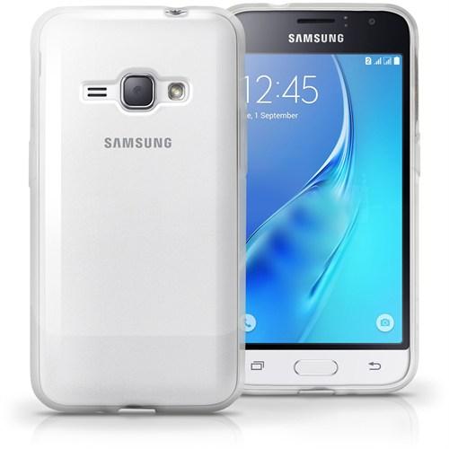 Cayka Samsung J1 (2016) Şeffaf Kılıf Tpu
