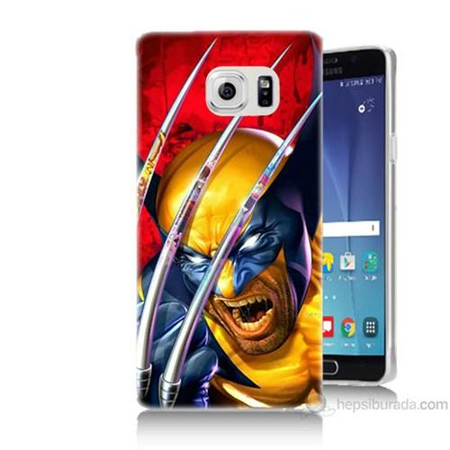 Teknomeg Samsung Galaxy Note 5 Kapak Kılıf Wolverin Baskılı Silikon