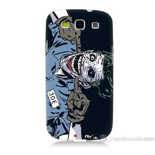 Teknomeg Samsung Galaxy S3 Kapak Kılıf Joe Joker Baskılı Silikon