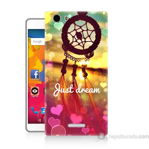 Teknomeg Casper Via M1 Kapak Kılıf Just Dream Baskılı Silikon