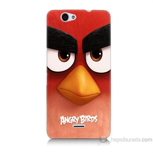 Teknomeg Casper Via V5 Kapak Kılıf Angry Birds Baskılı Silikon