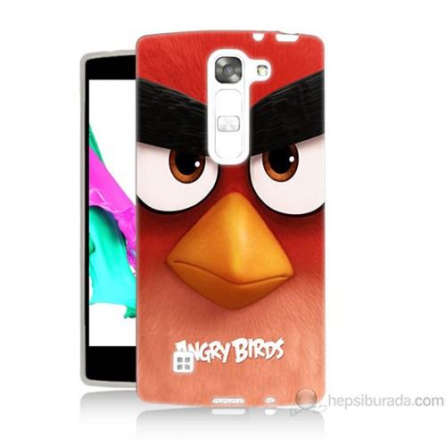 Teknomeg Lg G4 Magna Kapak Kılıf Angry Birds Baskılı Silikon