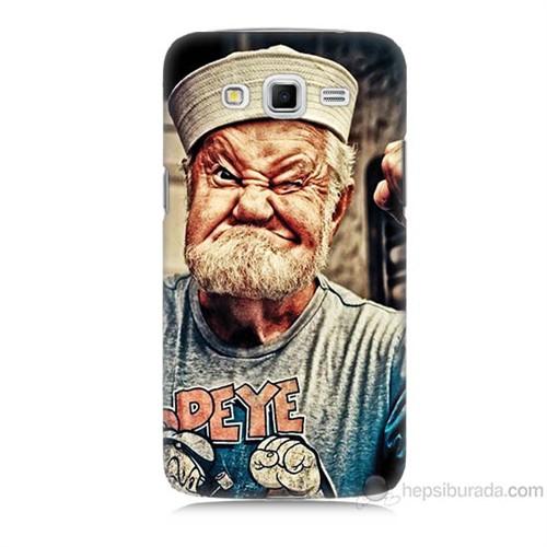 Teknomeg Samsung Galaxy Grand 2 Kapak Kılıf Temel Reis Baskılı Silikon