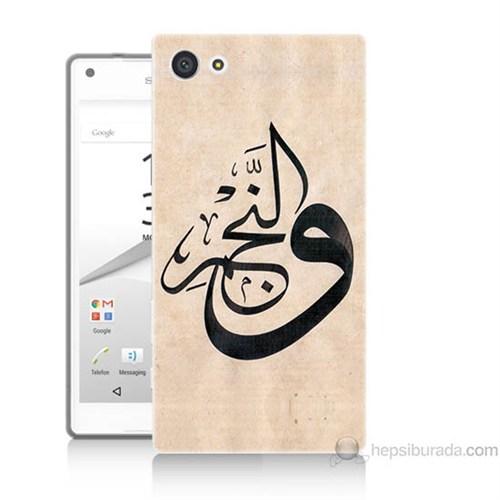 Teknomeg Sony Xperia Z5 Kapak Kılıf Arapça Baskılı Silikon