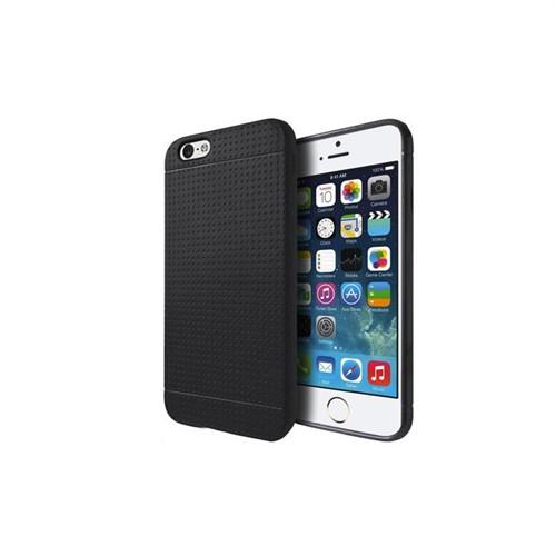 Addison Ip-632 Siyah İphone 6 4.7 Silikon Koruma Kılıfı