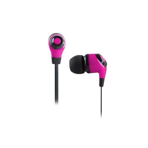 Snopy Sn-802 Mobil Telefon Uyumlu Kulak İçi Pembe Mikrofonlu Kulaklık