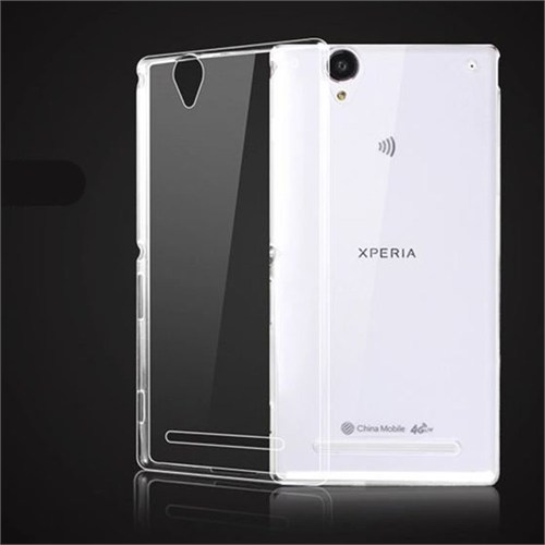 Markaawm Sony Xperia T2 Ultra Kılıf Ultra İnce 0.3Mm