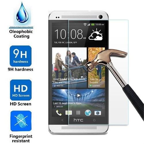 Markaawm Htc One M7 Ekran Koruyucu Temperli Cam