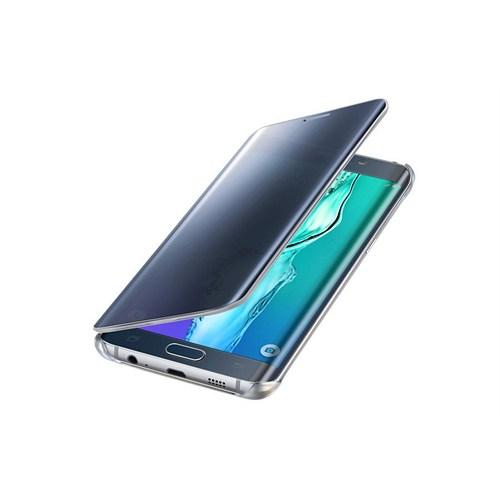 Samsung Galaxy S6 Edge Plus Orjinal Clear Wiev Kılıf-Siyah