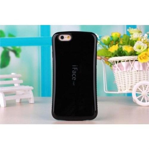 İface Mall Apple İphone 6 Sert Parlak Kılıf-Siyah