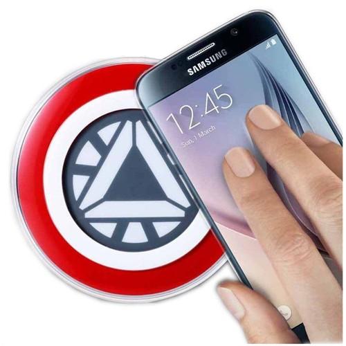 Samsung Kablosuz Wireless Şarj (Iron Man-Ep-Pg920i)