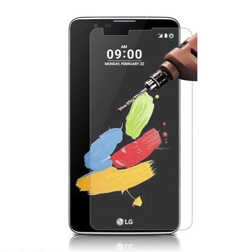 Teleplus Lg Stylus 2 Screen Plastik Ve Cam Karışımı Kırılmaz Ekran Koruyucu