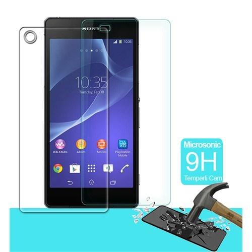 İdealtrend Sony Z3 Ön + Arka 9H Temper Glass Ekran Koruyucusu