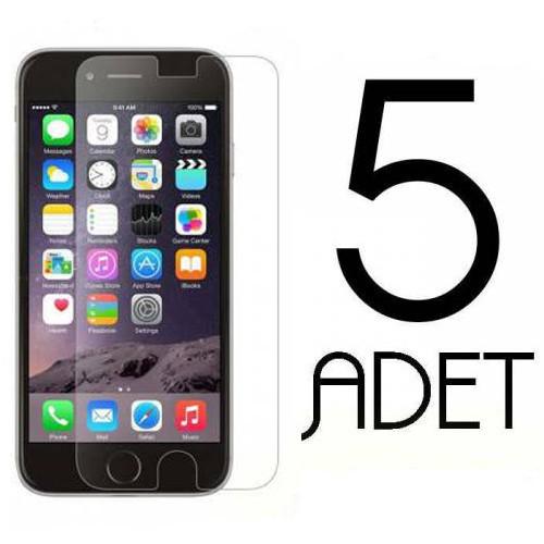 Coverzone Samsung Galaxy S7390 Trend Lite Ekran Koruma Jelatin X5 Adet