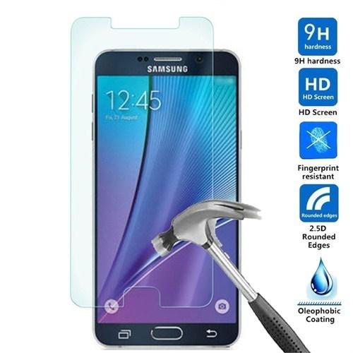 Media Time Samsung N920/Note5 Renkli Kırılmaz Cam Ekran Koruyucu