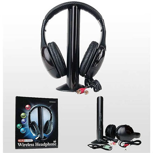 Microcase Kablosuz Wireless Kulaklık Tv Pc Dvd Mp3