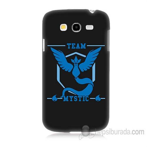 Teknomeg Samsung Galaxy Grand Neo İ9060 Kapak Kılıf Pokemon Team Mystic Baskılı Silikon