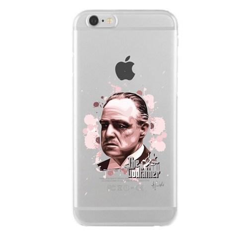 Remeto Samsung Galaxy Note 3 Godfather Transparan Silikon Resimli Kılıf