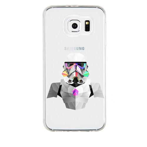 Remeto Samsung Galaxy Note 3 Transparan Silikon Resimli Star Wars