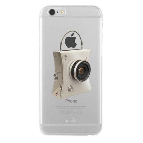 Remeto Samsung Galaxy E7 Transparan Silikon Resimli Kamera Tasarımlı