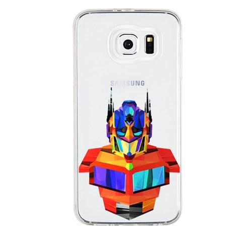 Remeto Samsung Galaxy Grand 2 Transparan Silikon Resimli Transformers Optimus Prime