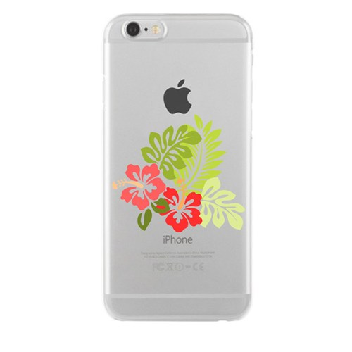 Remeto Samsung Galaxy S7 Transparan Silikon Resimli Çiçek