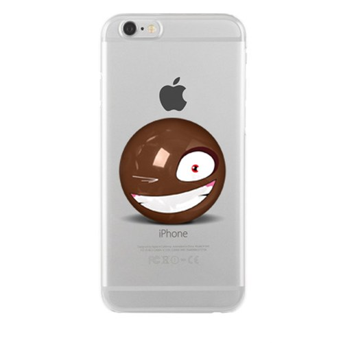 Remeto Samsung Galaxy Note 3 Neo Transparan Silikon Resimli Göz Kırpma Smileyi