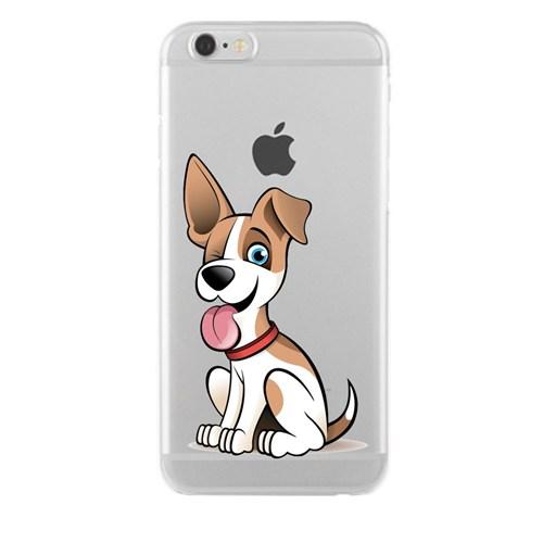Remeto Samsung Core Prime Transparan Silikon Resimli Köpek