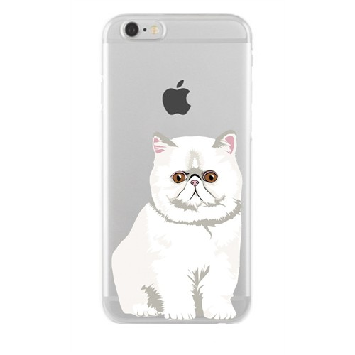 Remeto LG G4 Transparan Silikon Resimli Şaşkın Kedi Kedisi