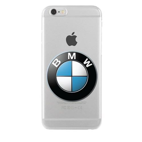 Remeto Samsung Galaxy S3 Mini Transparan Silikon Resimli Bmw Logo