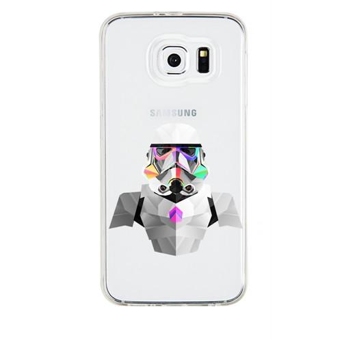 Remeto Samsung Galaxy S3 Mini Transparan Silikon Resimli Star Wars