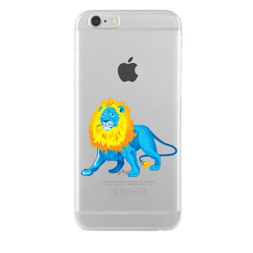 Remeto Samsung Galaxy S3 Mini Transparan Silikon Resimli Aslan Borçu