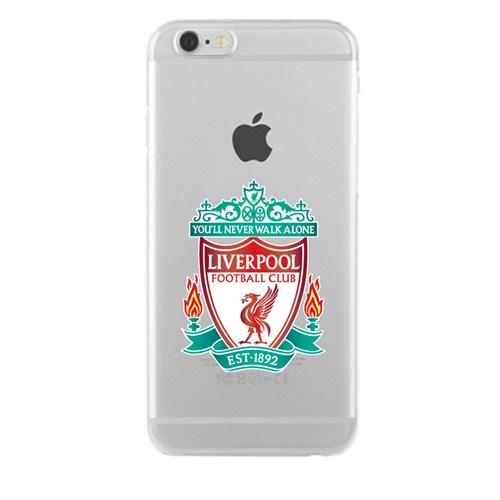 Remeto Samsung Galaxy S4 Mini Transparan Silikon Resimli Liverpool Logo