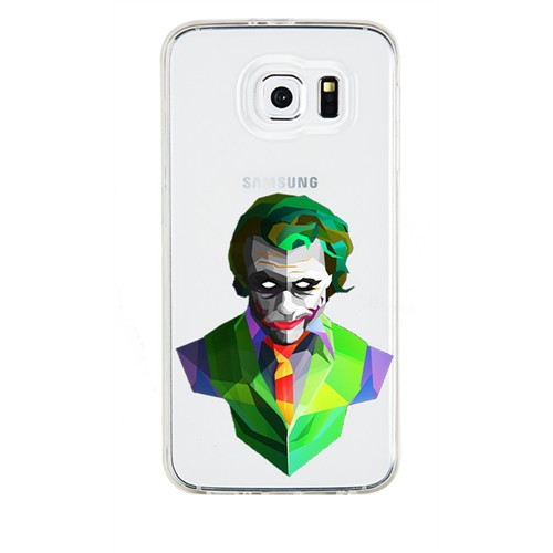 Remeto Samsung Galaxy S4 Mini Transparan Silikon Resimli Joker