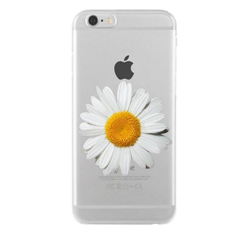 Remeto Samsung Galaxy S4 Mini Transparan Silikon Resimli Papatya