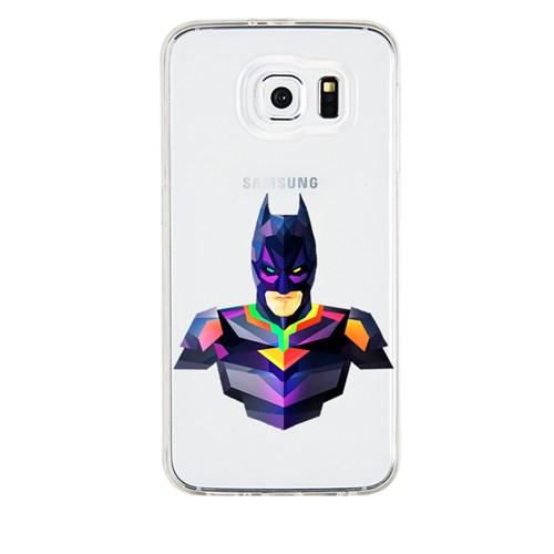 Remeto Samsung Galaxy S5 Mini Transparan Silikon Resimli Batman