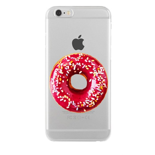 Remeto Samsung Galaxy S3 Transparan Silikon Resimli Donut