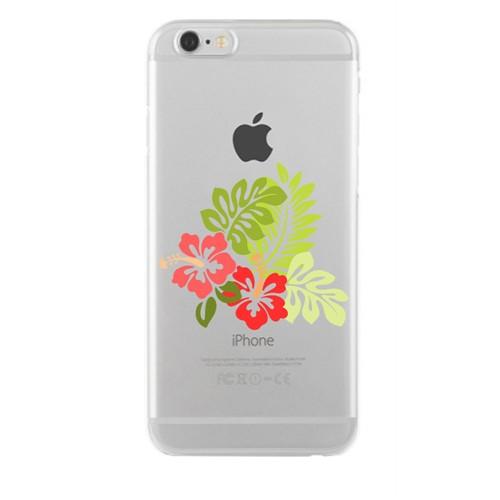 Remeto Samsung Galaxy S4 Transparan Silikon Resimli Çiçek