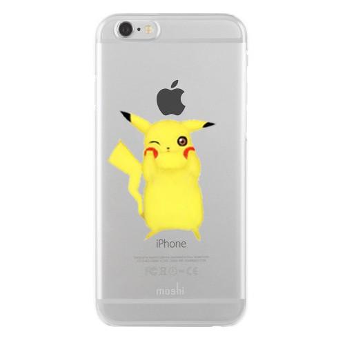 Remeto Samsung Galaxy A5 Transparan Silikon Resimli Pikachu Tasarımlı